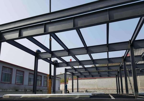 廠房鋼架結構修建